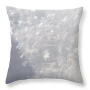 Snowflakes From Heaven 1 Throw Pillow