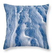Snowforms 1 Throw Pillow