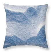 Snowforms 3 Throw Pillow