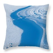 Snowforms 4 Throw Pillow