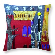 Snowstorm Backbay Throw Pillow