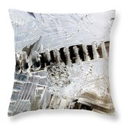 Snow...the Day After Throw Pillow
