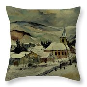 Snowy Landscape 780121 Throw Pillow