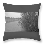 Snowy River        Landscape          Indiana Throw Pillow