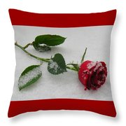 Richard's  Rose Throw Pillow