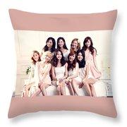 Snsd Throw Pillow