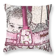 Snug As A Bug In A Rug Throw Pillow