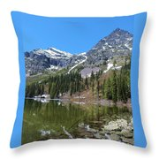 Snyder Lake Throw Pillow