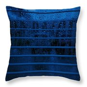So Blue I Can Throw Pillow
