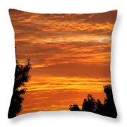 So Cal Sunset Throw Pillow