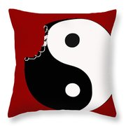 So Goes The World Throw Pillow