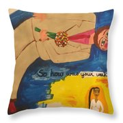 So How Was Your Weekend?  Throw Pillow