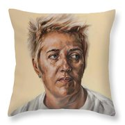 So Many Regrets Throw Pillow