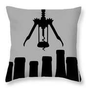 So Much Wine So Little Time Throw Pillow