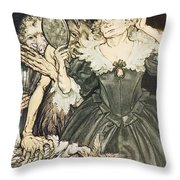 So Perfect Is Their Misery Throw Pillow