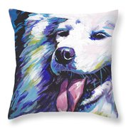 So Sammy Throw Pillow