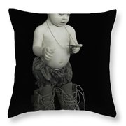 So She May Live Free Throw Pillow