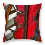 Soaked By Sorrow Throw Pillow