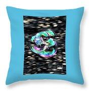 Soap Bubble Mania #1 Throw Pillow