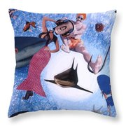 Soap Scene #26 Operation Rescue Throw Pillow