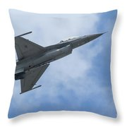 Soaring Into The Blue Throw Pillow