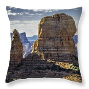 Soaring Red Rock Monoliths Throw Pillow