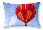 Soaring With The Birds Throw Pillow