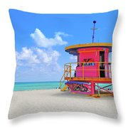 Sobe Lifeguard Throw Pillow