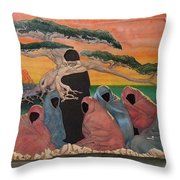 Social Perception Throw Pillow