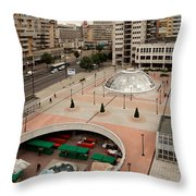Socialistic Town Planning Throw Pillow
