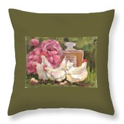 Society Chics Throw Pillow