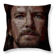 Society Throw Pillow