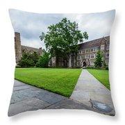 Sociology-psychology Building At Duke University Throw Pillow