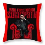 Sociopath Throw Pillow