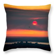 Sockeye Fire Throw Pillow