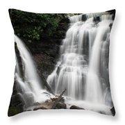 Soco Falls  Throw Pillow
