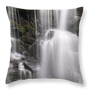 Soco Falls North Carolina Throw Pillow
