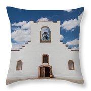 Socorro Mission Throw Pillow