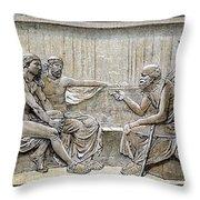 Socrates (c380-c450) Throw Pillow