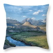 Soda Butte Throw Pillow