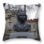 Soe Agents Monument Throw Pillow
