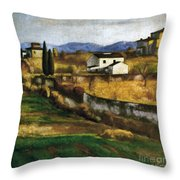 Soffici: Hill, 1922 Throw Pillow