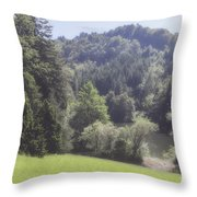 Soft Afternoon Throw Pillow