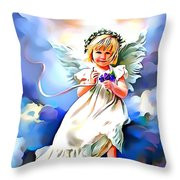 Soft And Dreamy Sweet  Throw Pillow
