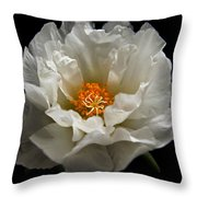 Soft And Pure Throw Pillow