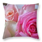 Soft And Sweet Throw Pillow