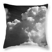Soft Clouds Throw Pillow