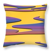 Soft Colors Throw Pillow