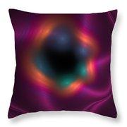Soft Dreamy Flow Throw Pillow