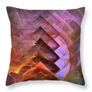 Soft Echoes Throw Pillow
